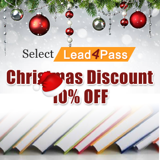 lead4pass Christmas Discount Off